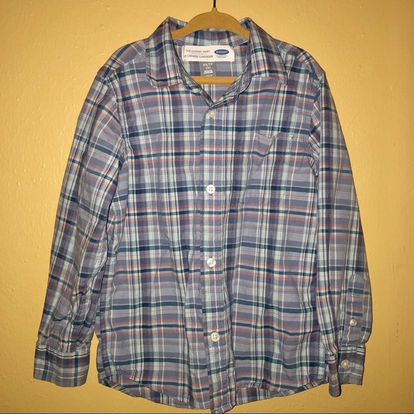 Old Navy Other - Boys Old Navy Plaid Button Up